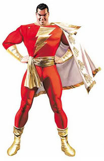 Captain Marvel from Shazam!