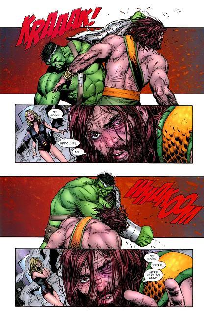 Uninuni - Hércules X Hulk
